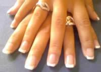 Odstranění gelových nehtů